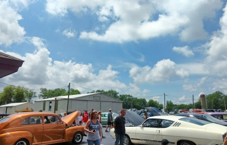 Classic Cars Barnstormers Day