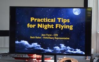 Aviation Seminar - Night Flying