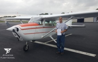 Keith Jauch earned his Private Pilot Certificate on 9/19/2017