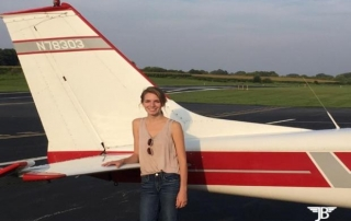 Kelley Wright earned her Private Pilot Certificate on 9/3/2017