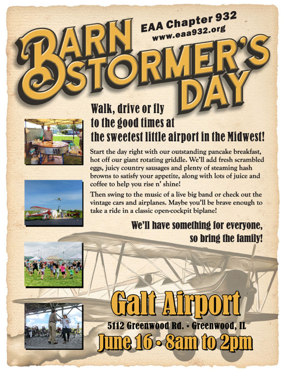 Galt Traffic Online: April 2018 - EAA 932