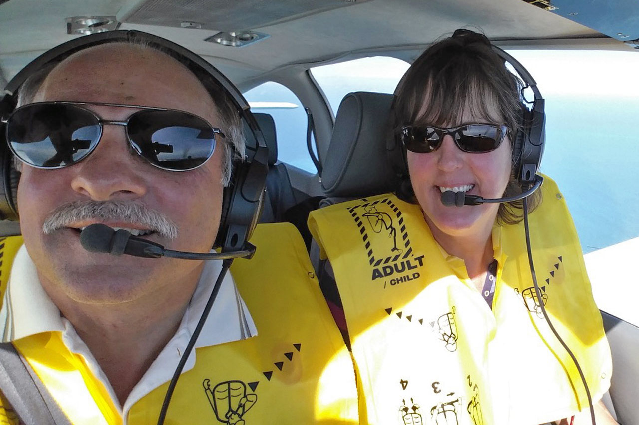Jean Bob Selfie In Flight