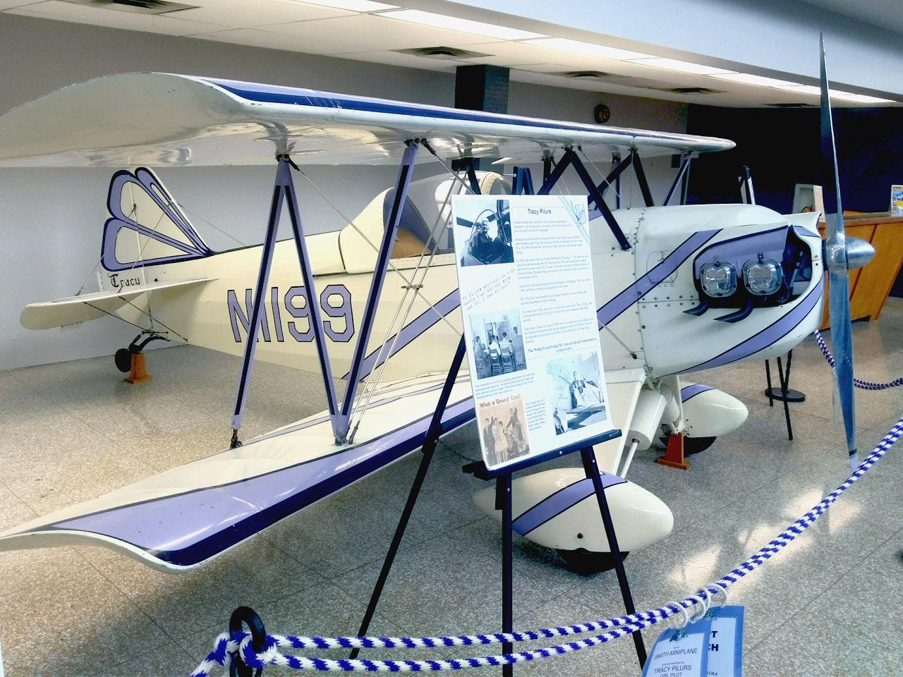 Tracy Pilurs Smith Miniplane