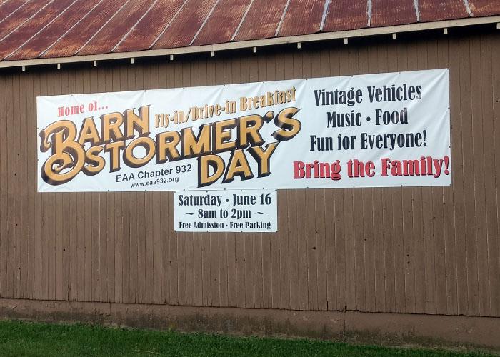 Bsd Banner On Barn