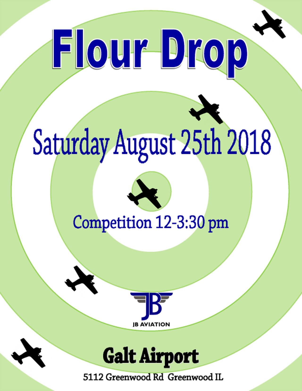 Flour Drop Flyer galt traffic online