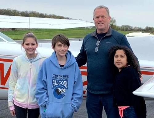EAA932 Young Eagles May Event