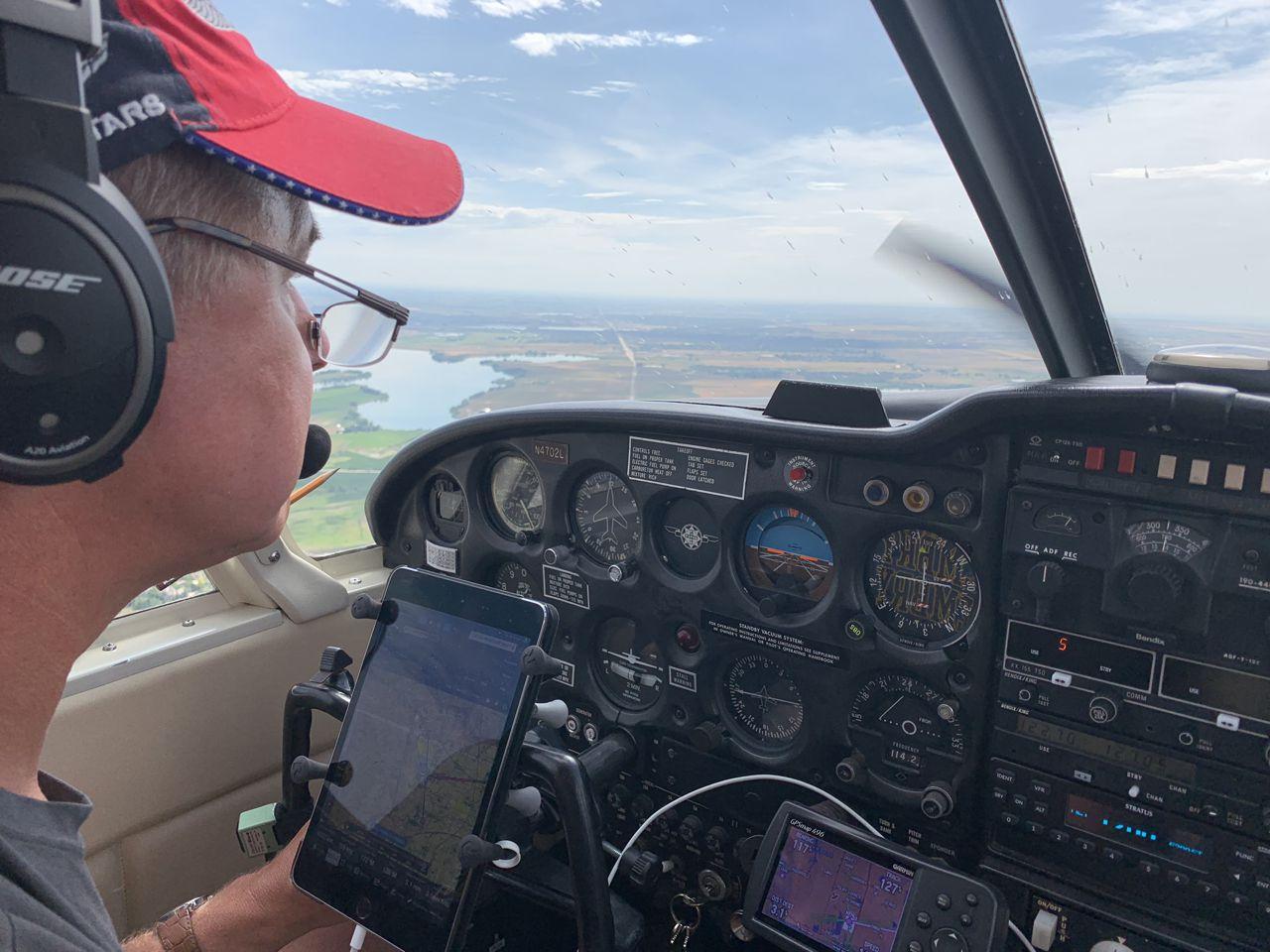 Arnie Flying recreational aerobatics