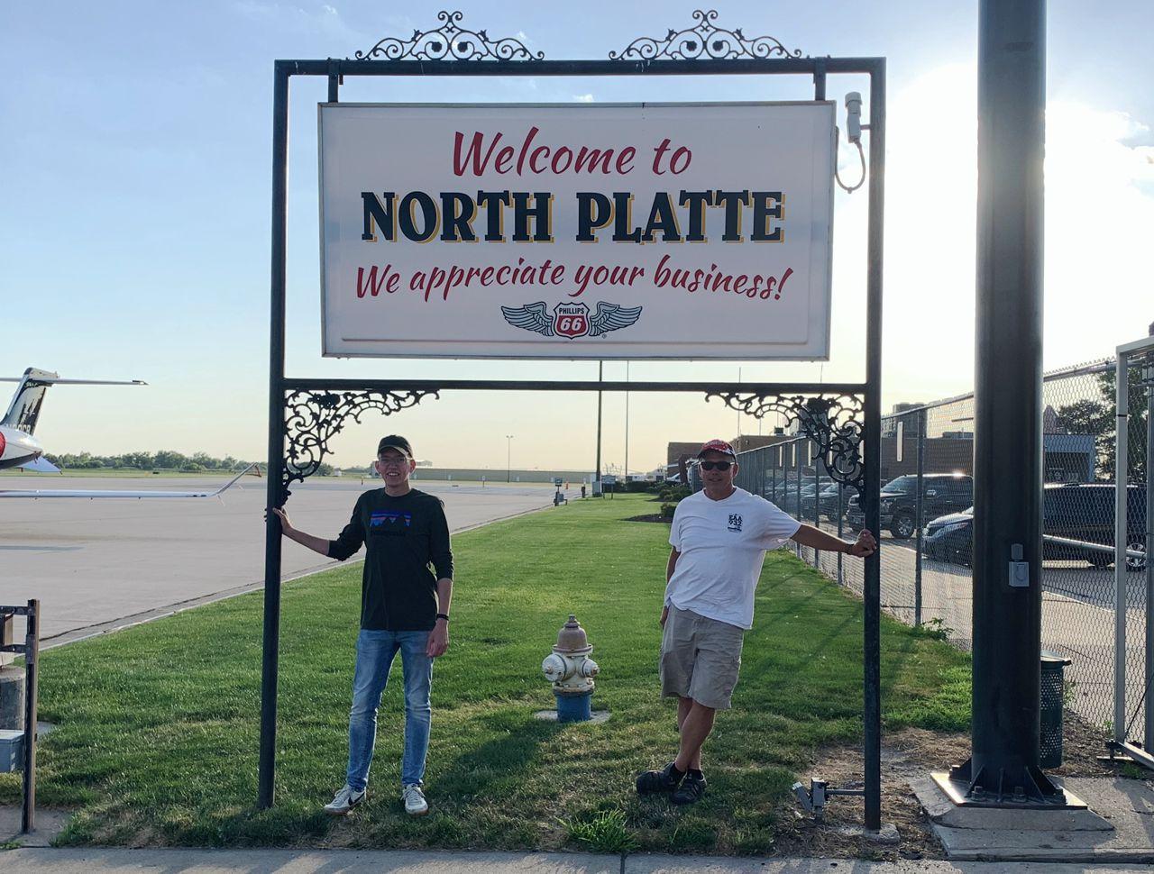 Jt And Arnie In North Platt recreational aerobatics