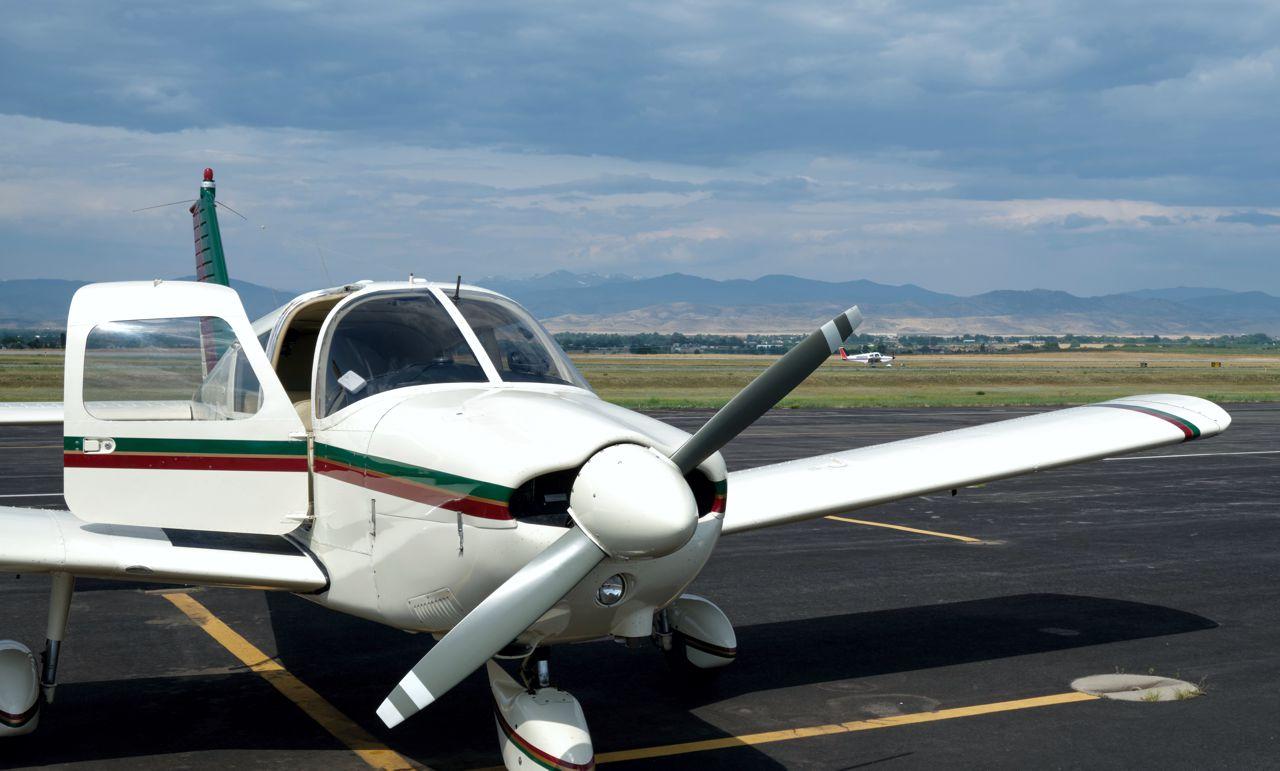 Lucy On Front Range recreational aerobatics