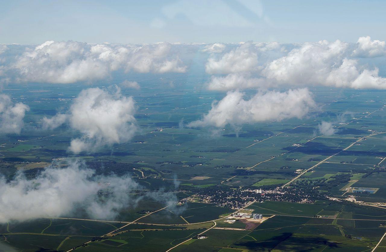 Clouds Over The Plains recreational aerobatics