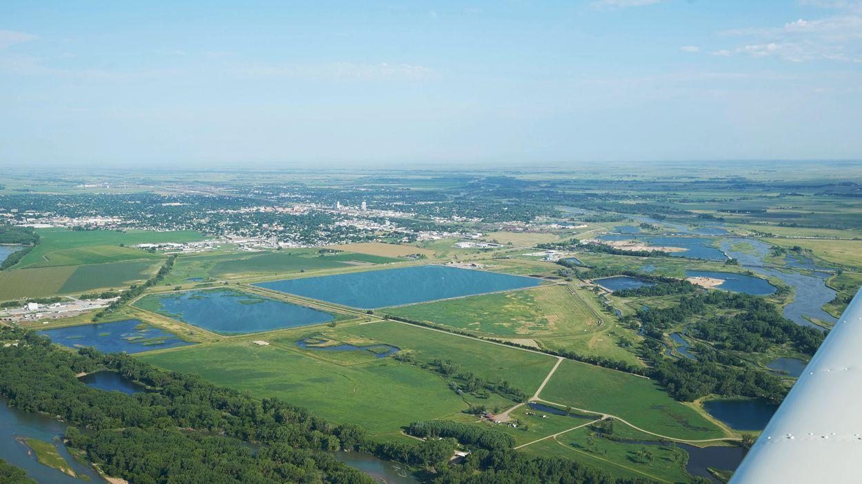 Farmland View recreational aerobatics