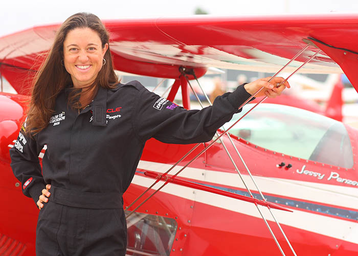Jessy Panzer Accomplished Aerobatic Pilot
