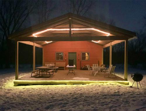 """Cabin Fever"" Outdoor Movie & Bonfire"