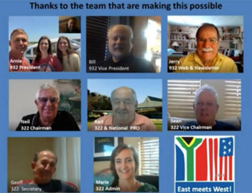 Virtual Gathering with EAA 322 – South Africa