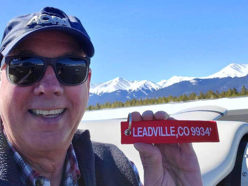 Larry Lands In Leadville